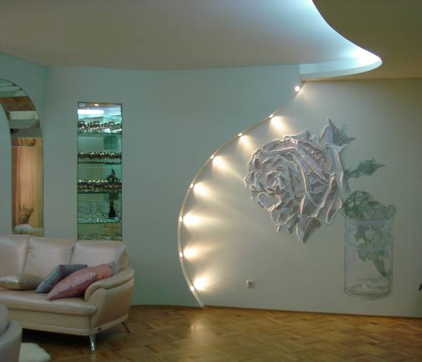 Внутренняя отделка квартиры стены